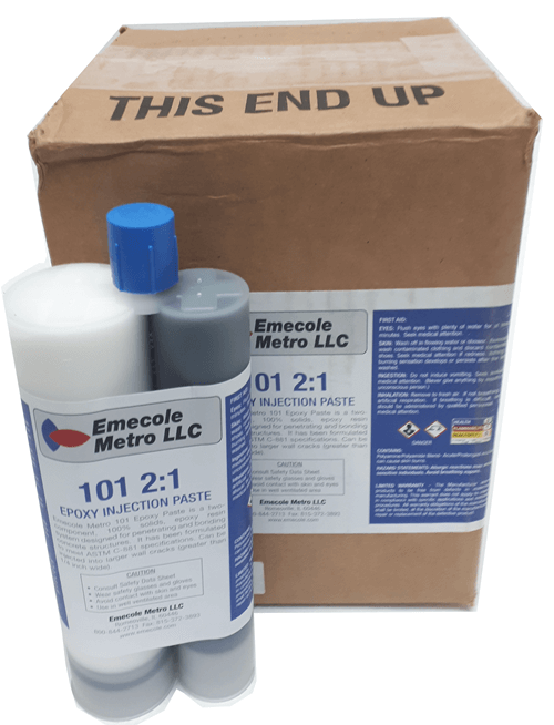 E101  Epoxy Injection Paste Epoxy for Large Cracks