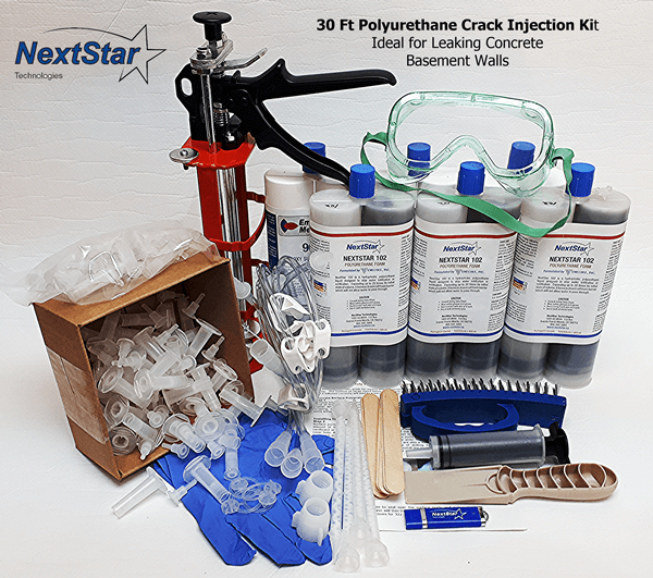 30 ft DIY Polyurethane Foundation Crack Repair kit
