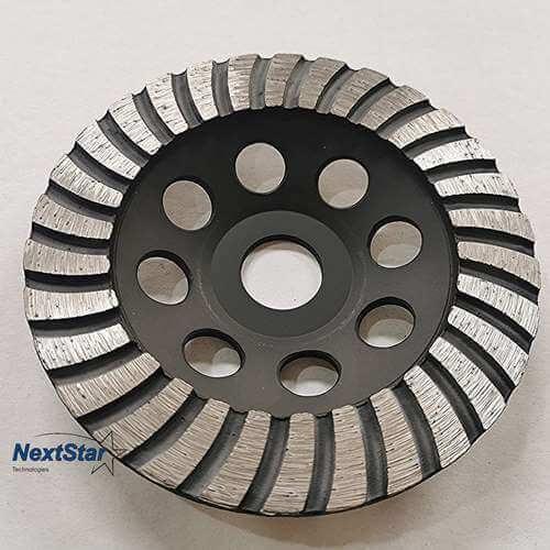 Diamond Swirly Cup Grinding Wheel 5 Inch