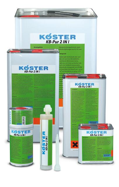 Koster 2n1 Polyurethane Six Gal Kit