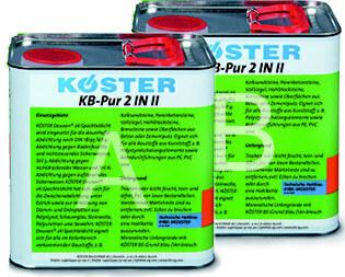 Koster KB- Pur 2N1 polyurethane 1 gallon kit
