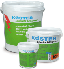 Koster KD2 Blitz Water Stop Powder 2.2lb can
