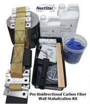 Pro Carbon Fiber Wall Reinforcement Kit 54ft