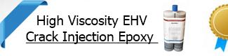 High Viscosity Crack Injection Epoxy