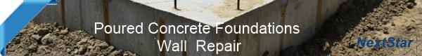 Concrete foundation leak repair