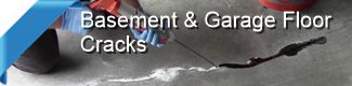 Repair concrete basement floors