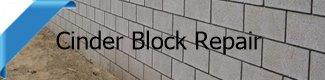 concrete block wall repair