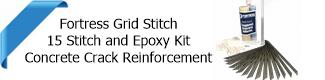 Fortress concrete grid stitch kit