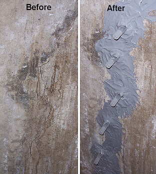 why low pressure injection for concrete wall crack repair