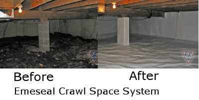 Crawl Space Sealing Conditioning And Encapsulation Systems