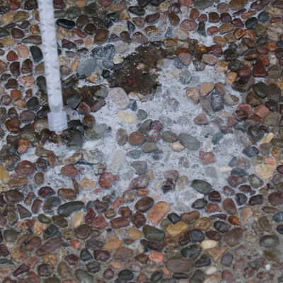 concrete clear crack repair