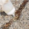 Clear crack repair