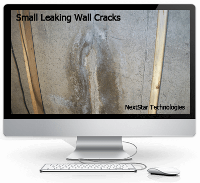 NextStar technologies concrete crack foundation resoration and repair using pilyurethane foam injection