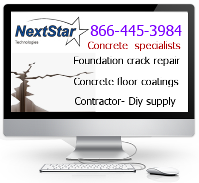 NextStar technologies concrete crack foundation resoration and repair