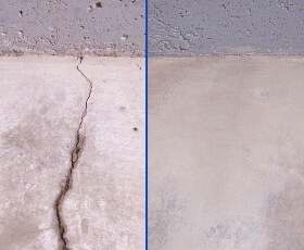 Nextstar before and after slab repair using roadware products