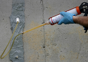 polyurethane concrete crack injection and repair epoxy injection can also be used for structural repair